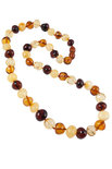 Amber bead necklace NP190-001