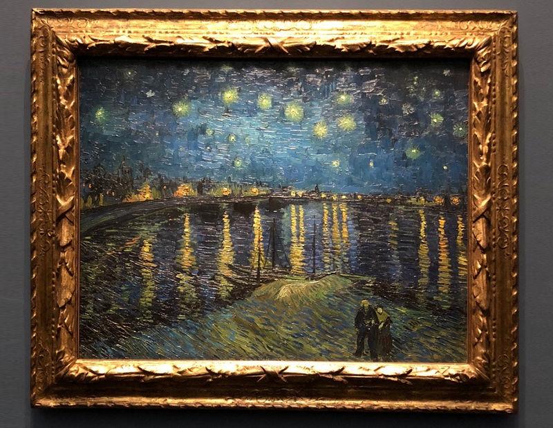 Ван Гог «Звездная ночь над Роной» - история полотна Звездная Ночь над Роной Ван Гог