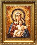 Икона Богородицы «Аз есмь с вами, и никтоже на вы» (Леушинская)