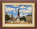 Панно «Памятник независимости. Харьков»
