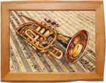 Панно «Музыкальная труба»