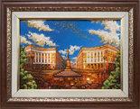 Панно «Памятник Дюку де Ришелье в Одессе»