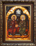 Икона «Сопрестолие» (Новозаветная Троица)