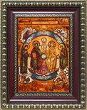 Икона «Троица Новозаветная с предстоящими Богородицей и Иоанном Предтечей»