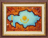 Карта: Казахстан