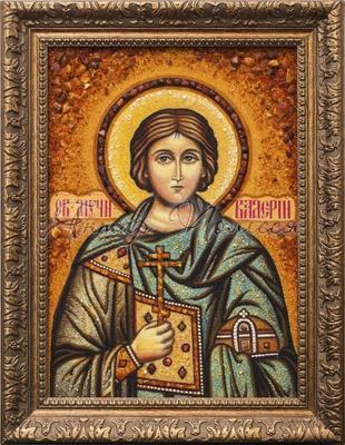 Икона Святой Мученик Валерий Севастийский russische Ikone Софрино