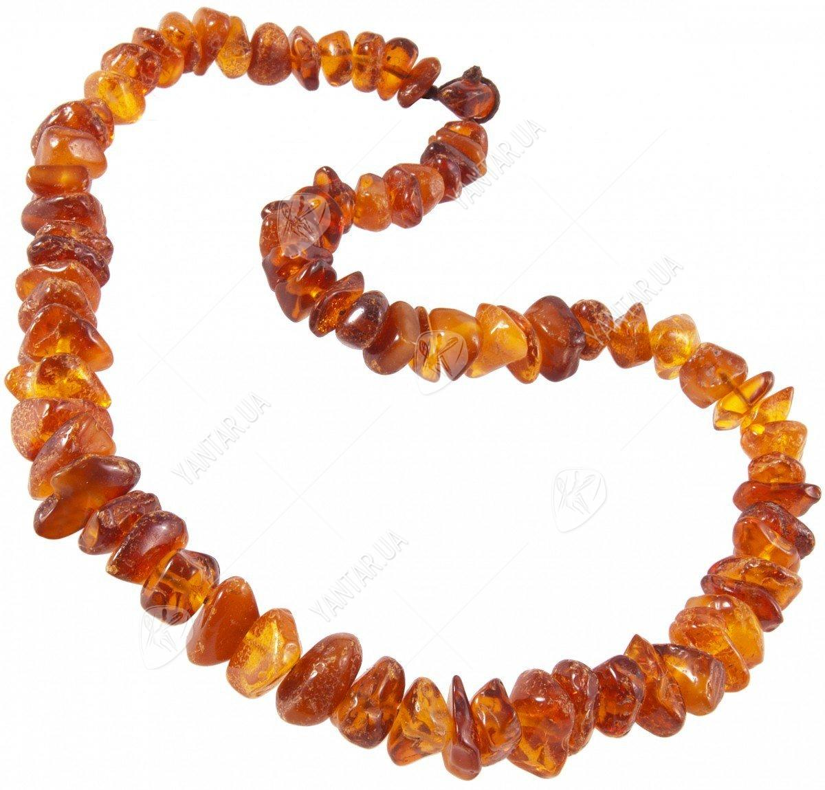 Amber beads for children Нп-41