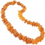 Amber bead necklace Нш-01