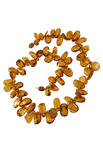 Amber bead necklace NP177-001