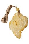 Кулон из янтаря «Роза»