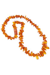 Amber bead necklace NP101