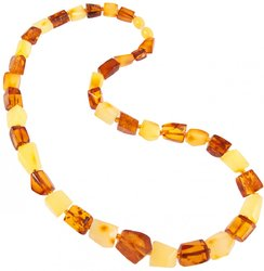Amber bead necklace Нп-80
