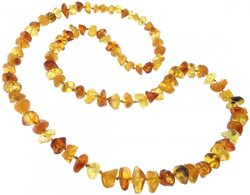 Amber bead necklace Нп-01