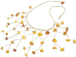 Amber bead necklace Нп-13