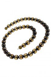 Amber bead necklace NPGT801