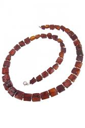 Amber bead necklace NSH107