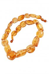 Amber bead necklace NP138