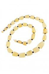 Amber bead necklace NP151-1