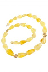 Amber bead necklace NР905