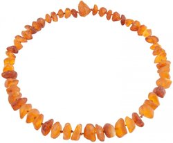 Amber bead necklace Нш-41