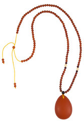 Amber bead necklace KTV31-001