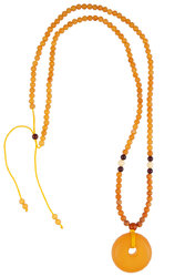 Amber bead necklace KTV23-001