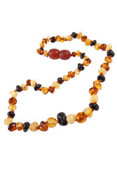 Amber bead necklace NP102
