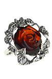 Кольцо из черненого серебра «Галина»