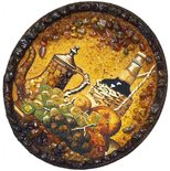 Decorative plate Пн-347