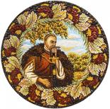 Decorative plate Дт-01-НТ