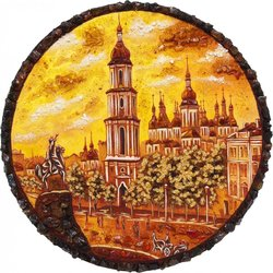 Decorative plate Дт-112