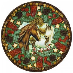 Decorative plate Дт-214