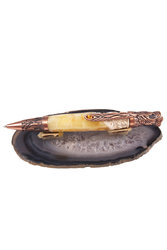 Pen decorated with amber SUV000258-002