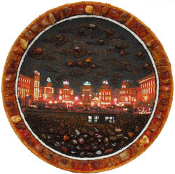 Decorative plate Дт-269