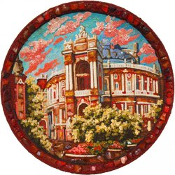 Decorative plate Дт-1128