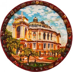 Decorative plate Дт-1129
