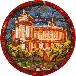 Decorative plate Дт-1134