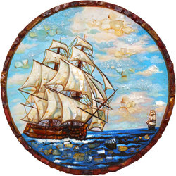 Decorative plate Дт-780-Пн