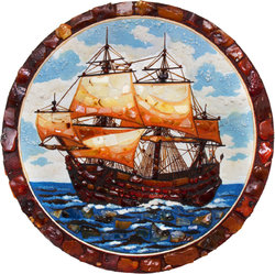 Decorative plate Дт-305