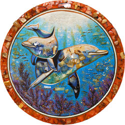 Decorative plate Дт-693