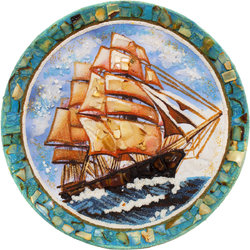 Decorative plate Дт-291
